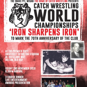 Catch Wrestling World Championships Friday 2nd November 2018